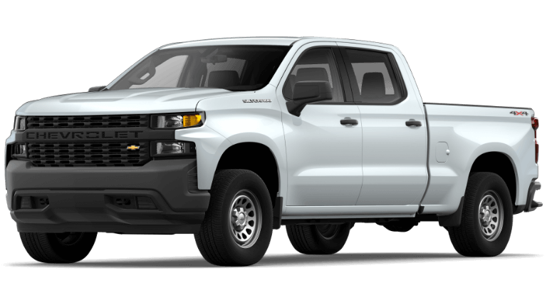 Summit White 2020 Chevy Silverado 1500 Work Truck