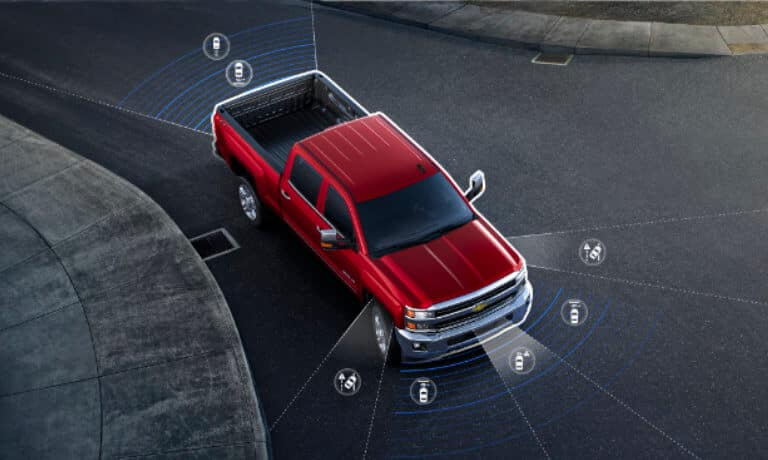 2020 Chevy Silverado 1500 Safety and Technology features