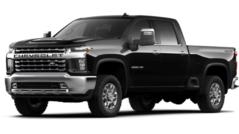 Black 2020 Chevy Silverado 2500 HD LTZ