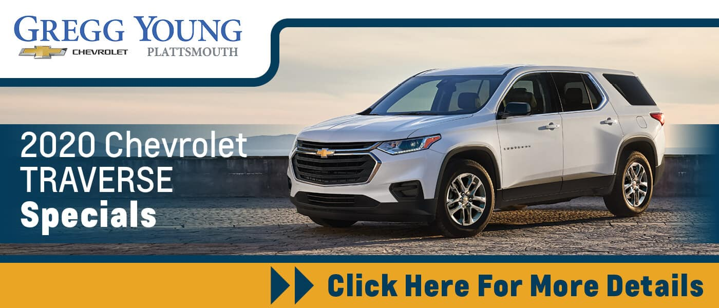 Click Here for 2020 Chevrolet Traverse Specials