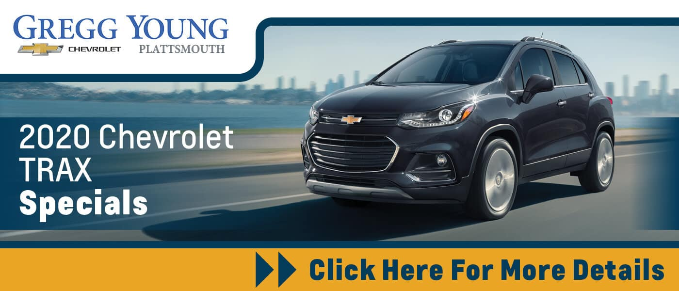 Click Here for 2020 Chevrolet Trax Specials