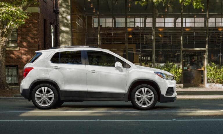 2020 Chevrolet Trax driving in the city