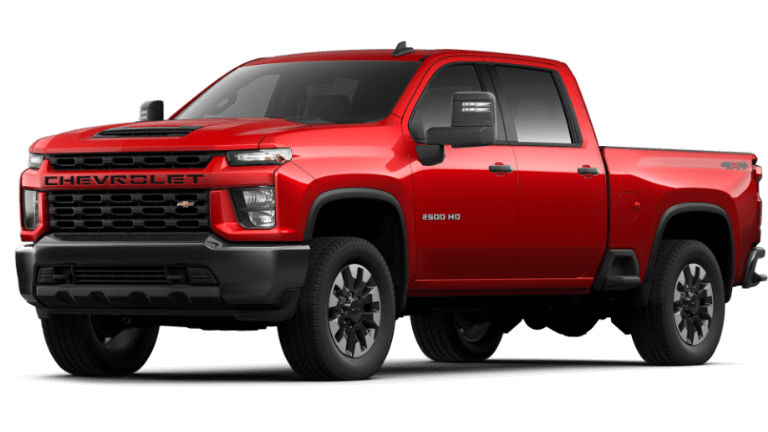 Red Hot 2020 Chevy Silverado 2500 HD Custom