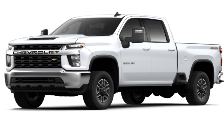 Summit White 2020 Chevy Silverado 2500 HD LT