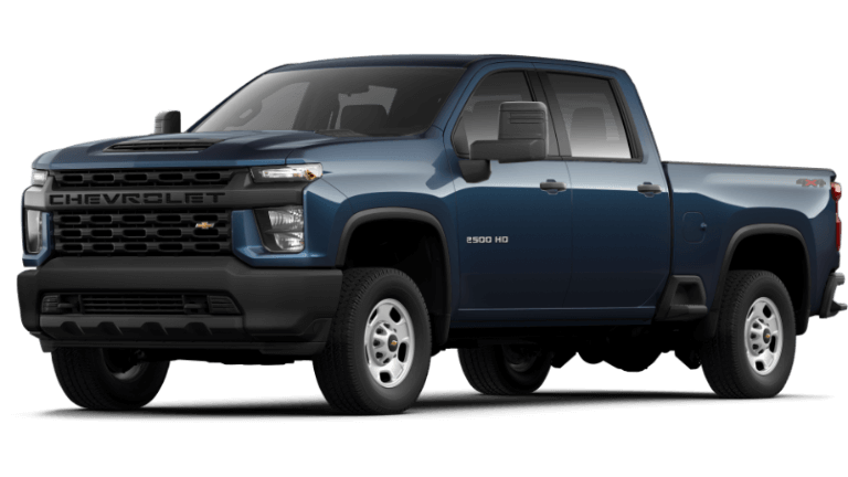 Northsky Blue 2020 Chevy Silverado 2500 HD Work Truck