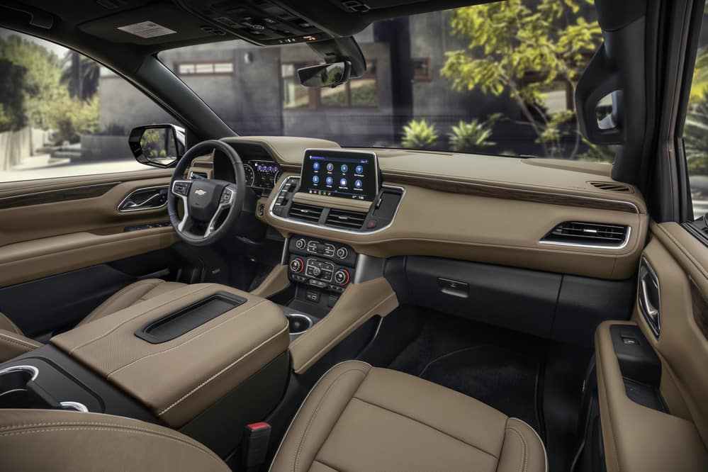 2021 Chevy Suburban technology image