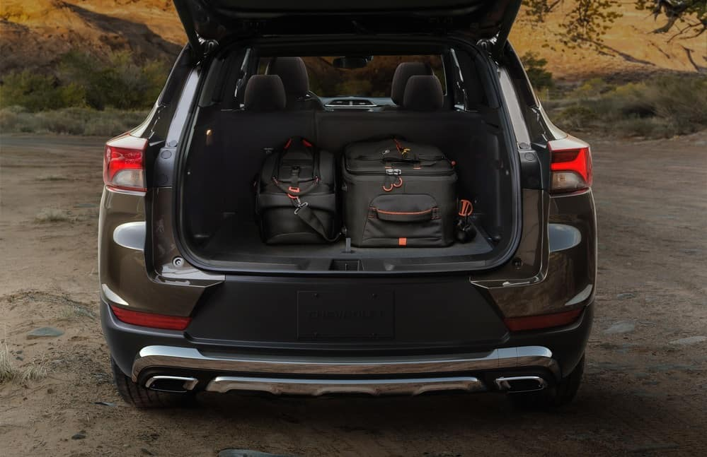 2021 Chevy Trailblazer cargo capacity