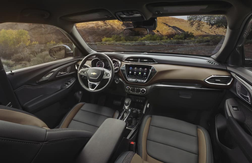 2021 Chevy Trailblazer interior image