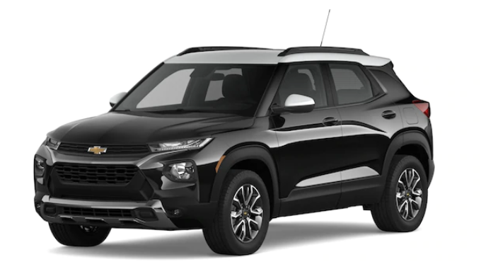 2021 Chevy Trailblazer - Mosaic Black Metallic/Summit White