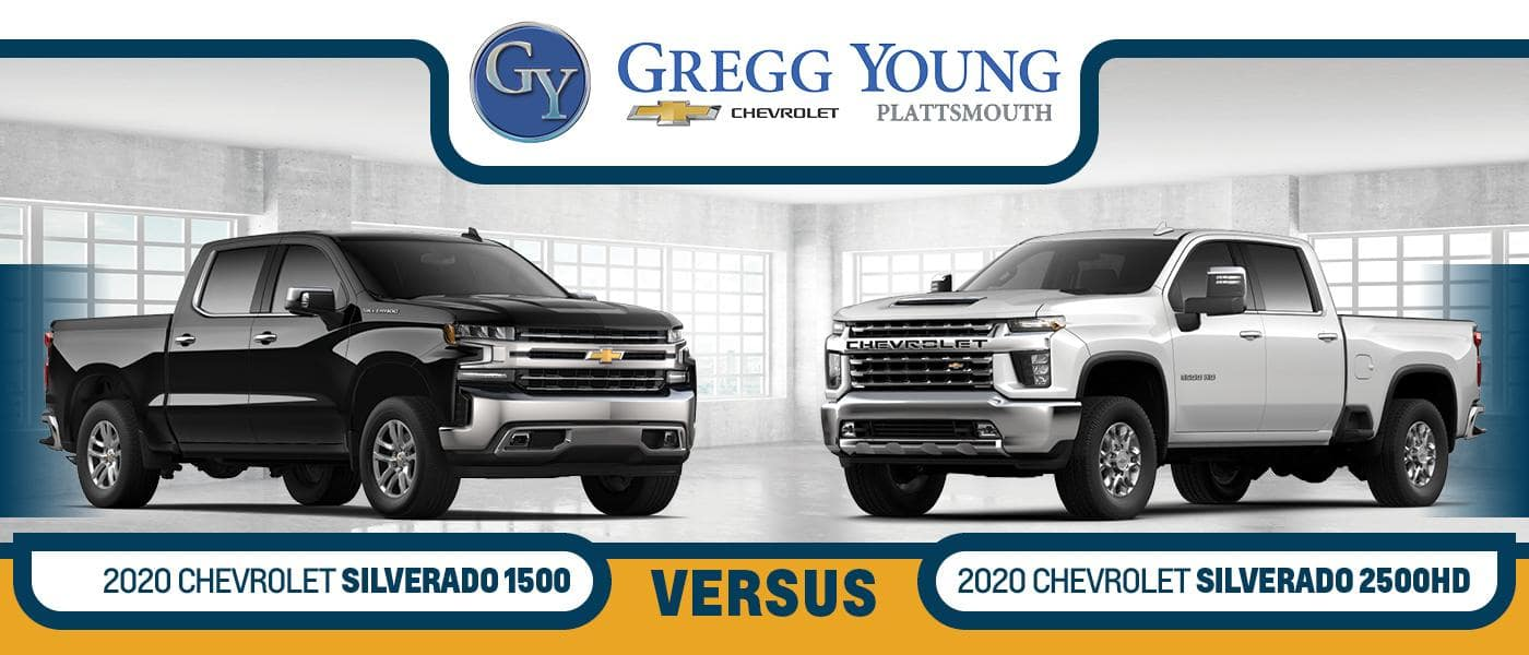 2020 Chevy Silverado vs. 2020 Chevy Silverado 2500HD