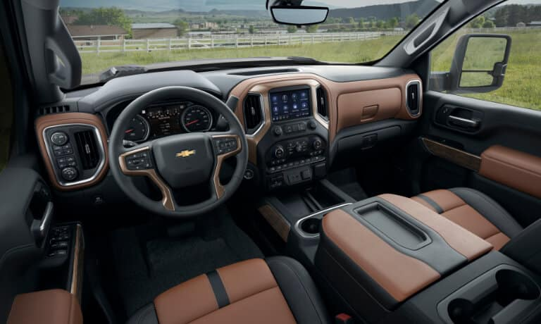 2020 Chevy Silverado 2500HD interior and exterior