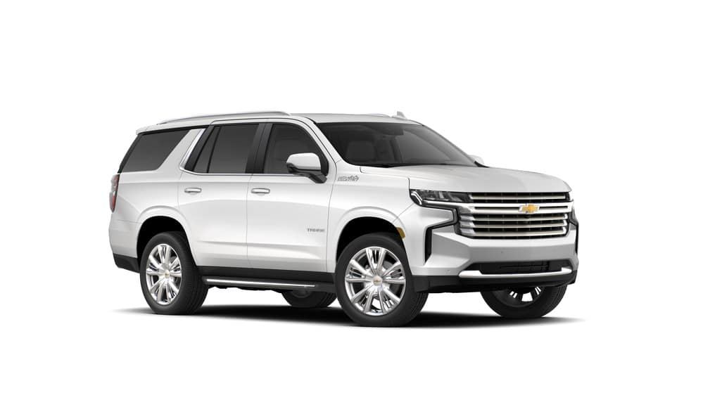 2021 Chevy Tahoe High Country trim