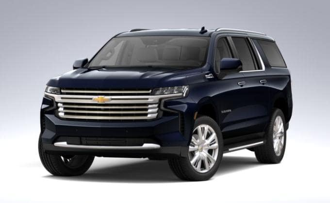2021 Chevy Suburban High Country trim