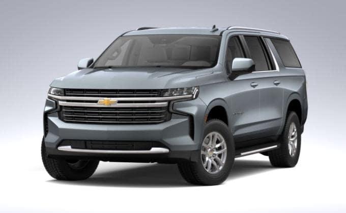 2021 Chevy Suburban LT trim