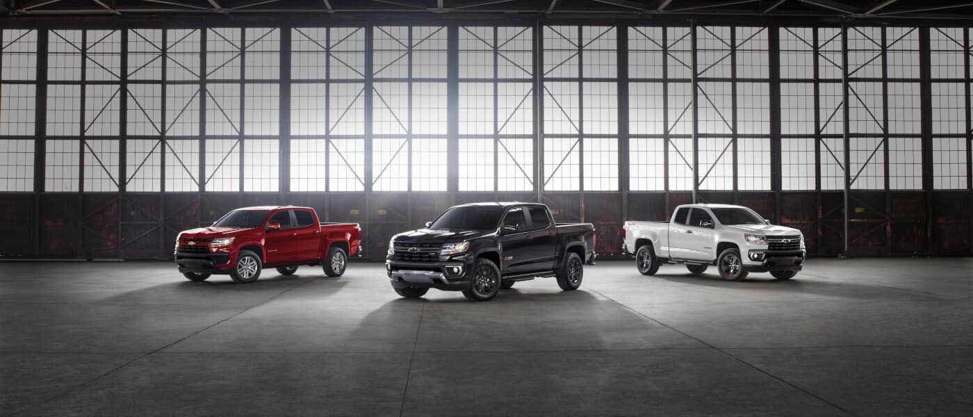 2021 Chevy Colorado trim levels