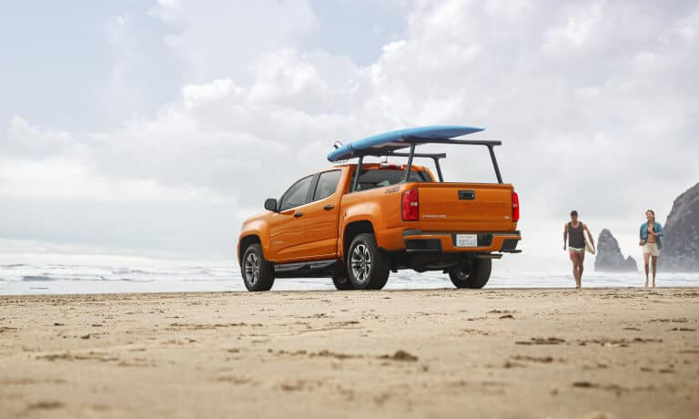 2021 Chevy Colorado exterior rear shot