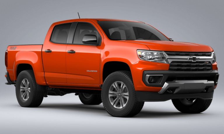 2021 Chevy Colorado Z71