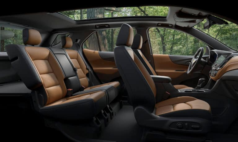 2021 Chevy Equinox interior side view