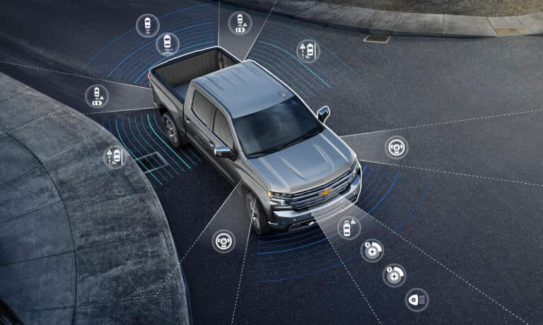2021 Chevrolet Silverado 1500 Safety & Technology
