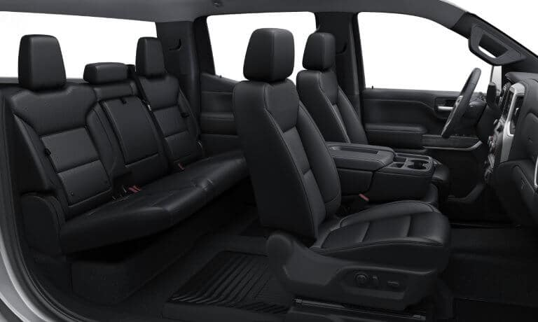 2021 Chevy Silverado 1500 Interior Design