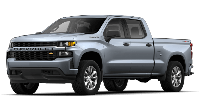 2021 Chevrolet Silverado 1500 Custom Trim