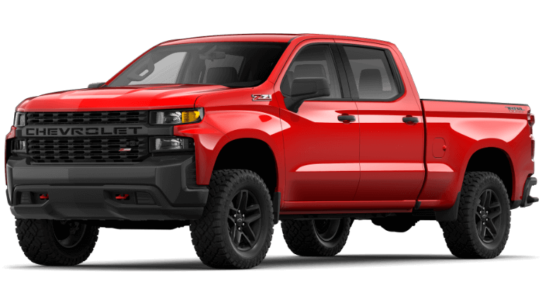 2021 Chevrolet Silverado 1500 Custom Trail Boss Trim