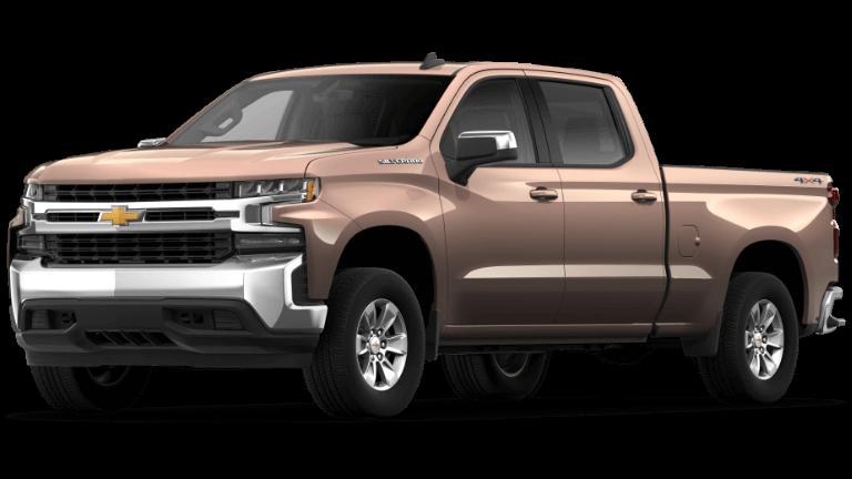 2021 Chevrolet Silverado 1500 LT Trim