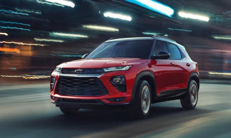 2021 Chevy Trailblazer exterior motion blur