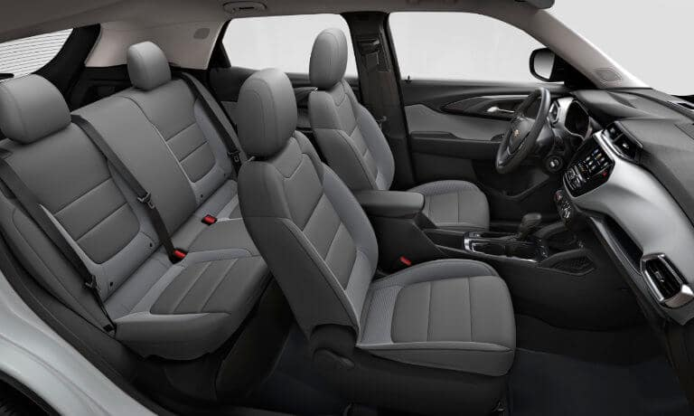 2021 Chevy Trailblazer interior side view