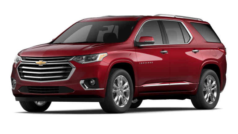 2021 Chevy Traverse High Country in Cajun Red