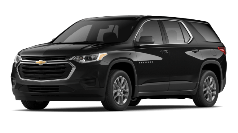 2021 Chevy Traverse L in Black