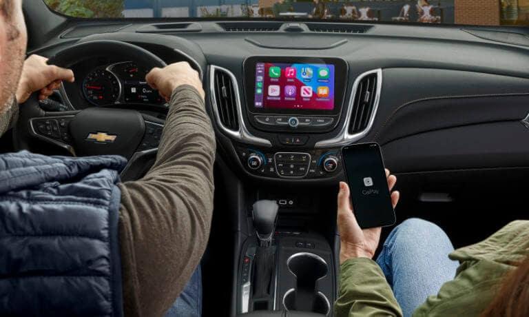 2022 Chevy Equinox front interior dashboard