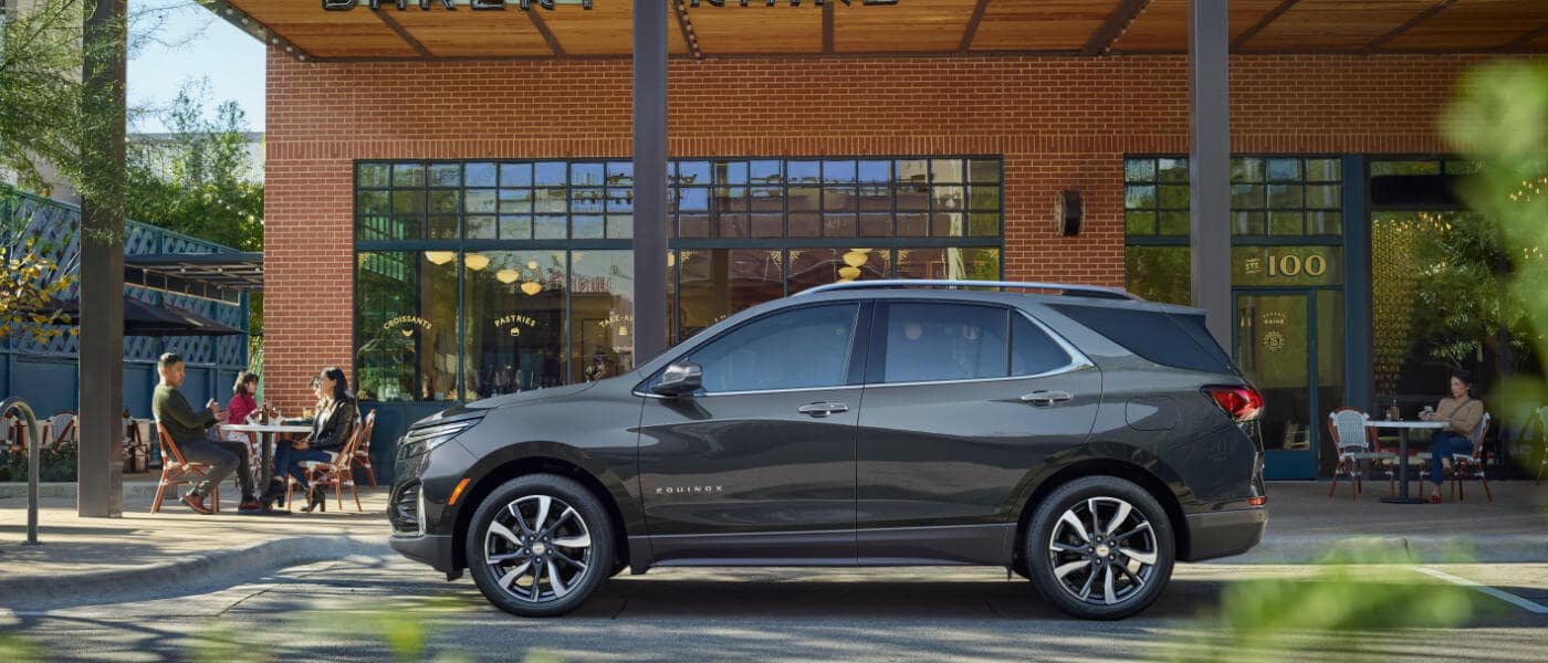 2022 Chevy Equinox parked outside