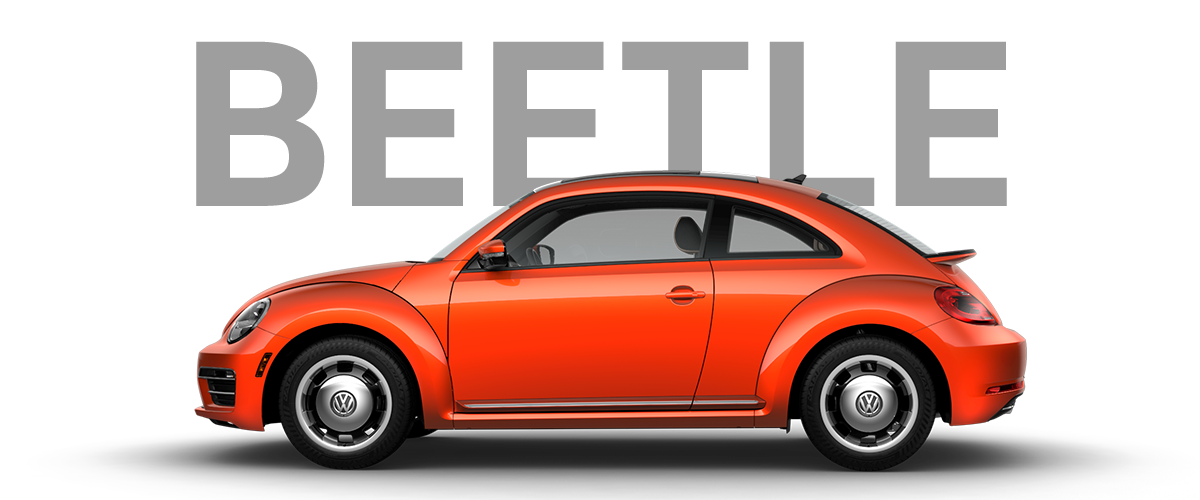 Get your Beetle before they are gone!