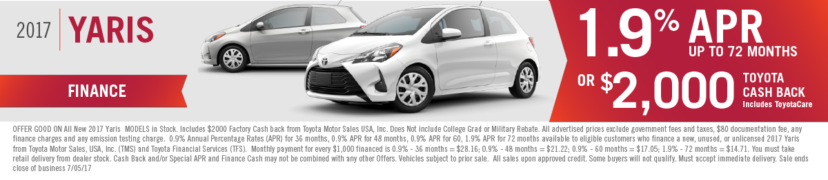 2017 Yaris for sale in Mission Hills, CA