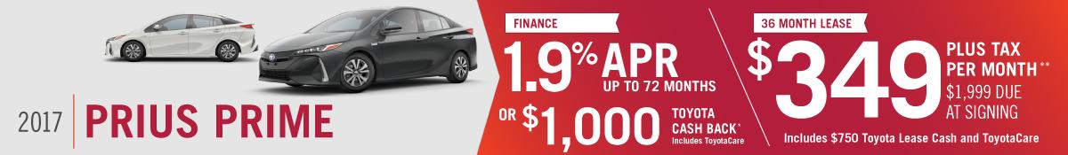 2017 Prius Prime for sale in Mission Hills, CA