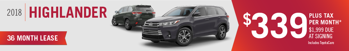 New 2018 Toyota Highlander for sale in Mission Hills, CA