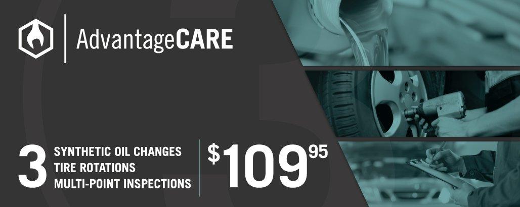 Advantagecare Pre Paid Vehicle Maintenance Vehicle Service