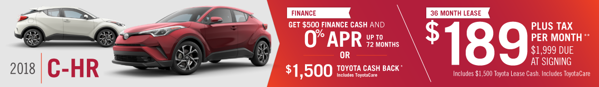 2018 C-HR for sale in Mission Hills, CA