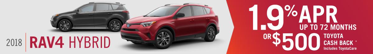 2017 RAV4 Hybrid for sale in Mission Hills, CA