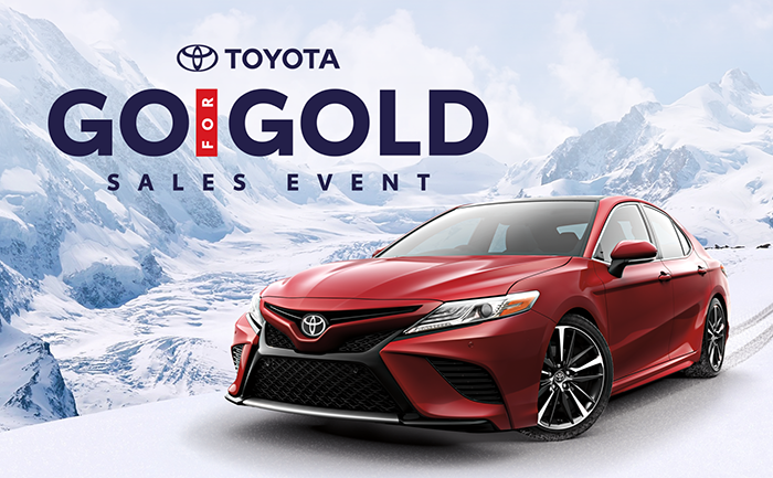 Go for Gold Sales Event