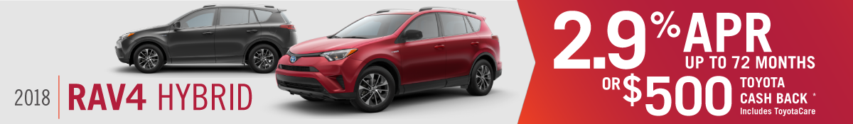 2018 RAV4 Hybrid for sale in Mission Hills, CA