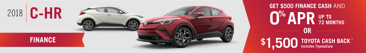 New C-HR for sale in Mission Hills, CA