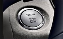 interior push button ignition of mercedes-benz