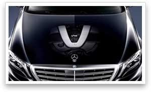 Mercedes-Benz hood