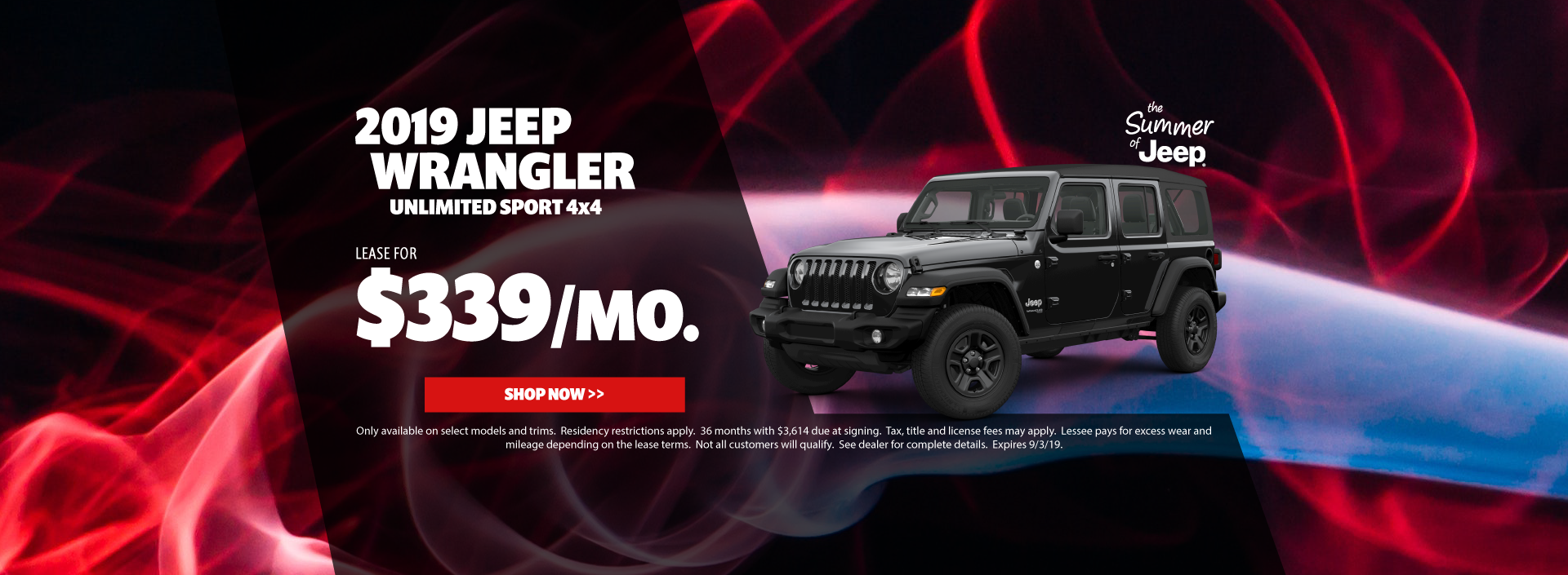 2019 Jeep Wrangler Special