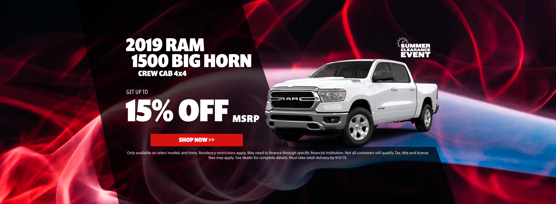 2019 Ram 1500 Big Horn Special