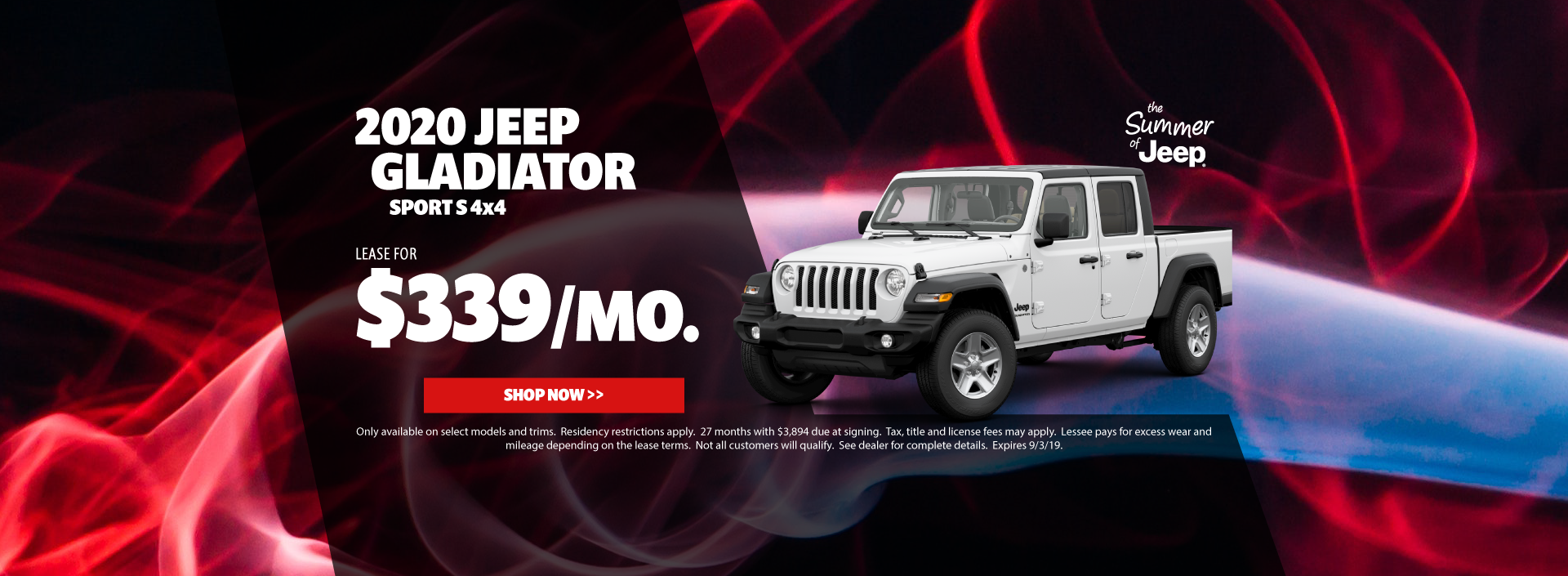 2020 Jeep Gladiator Special