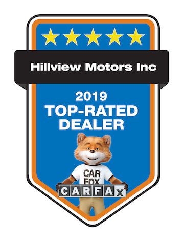 Carfax Top Rated Dealer Badge
