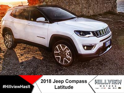 18' Jeep Compass Latitude